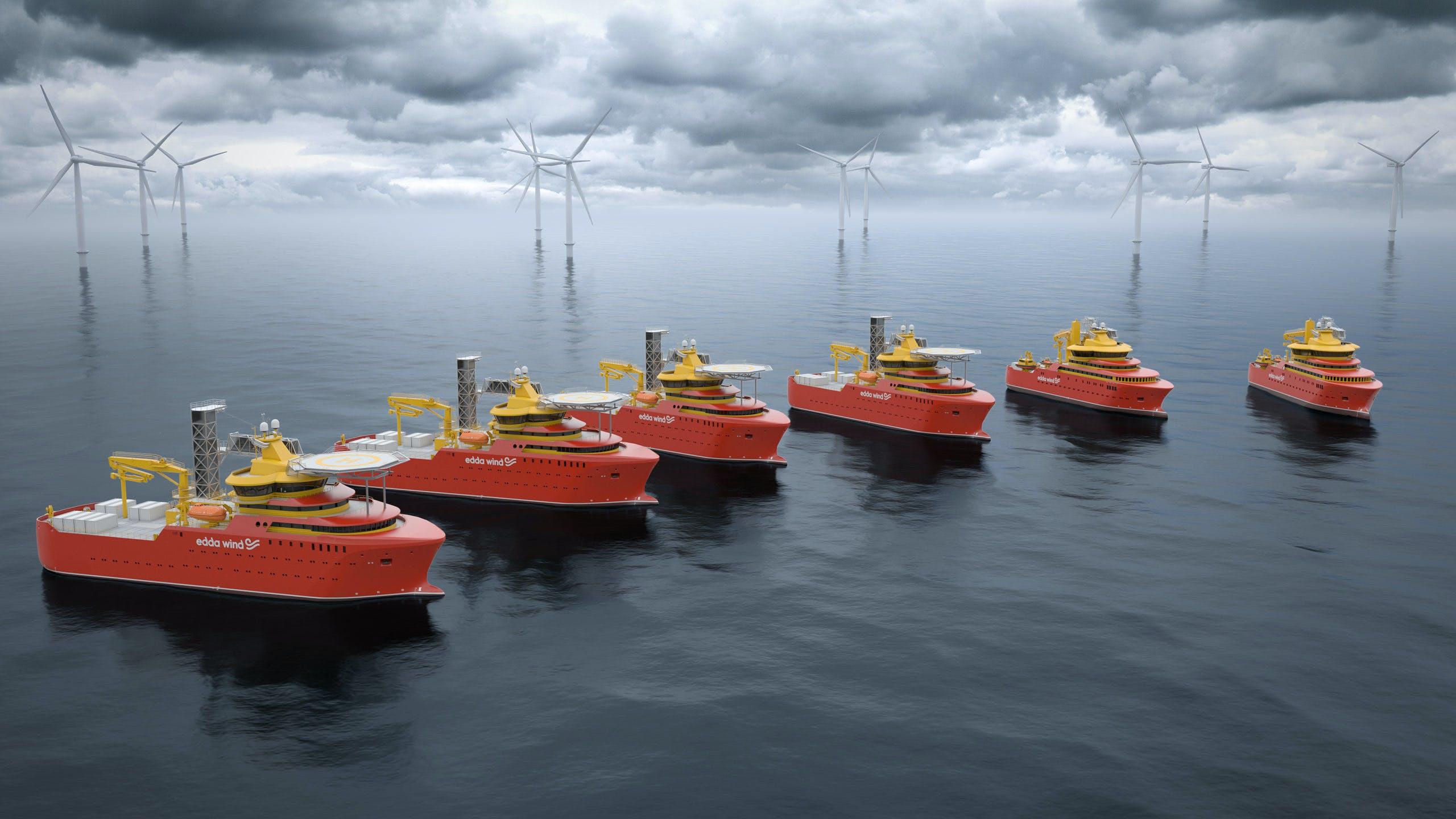Edda Wind Fleet ar purposed built C/SOVs